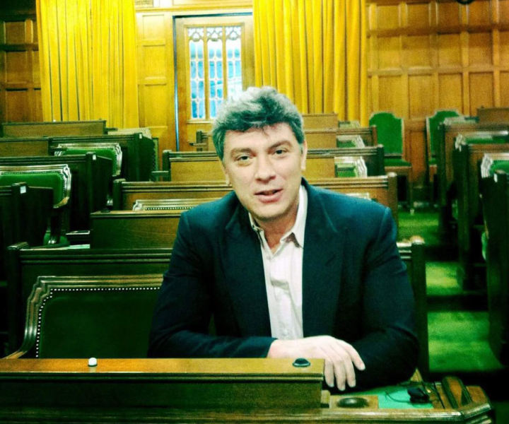Boris Nemtsov, House of Commons, February 2012. Photo: Marcus Kolga